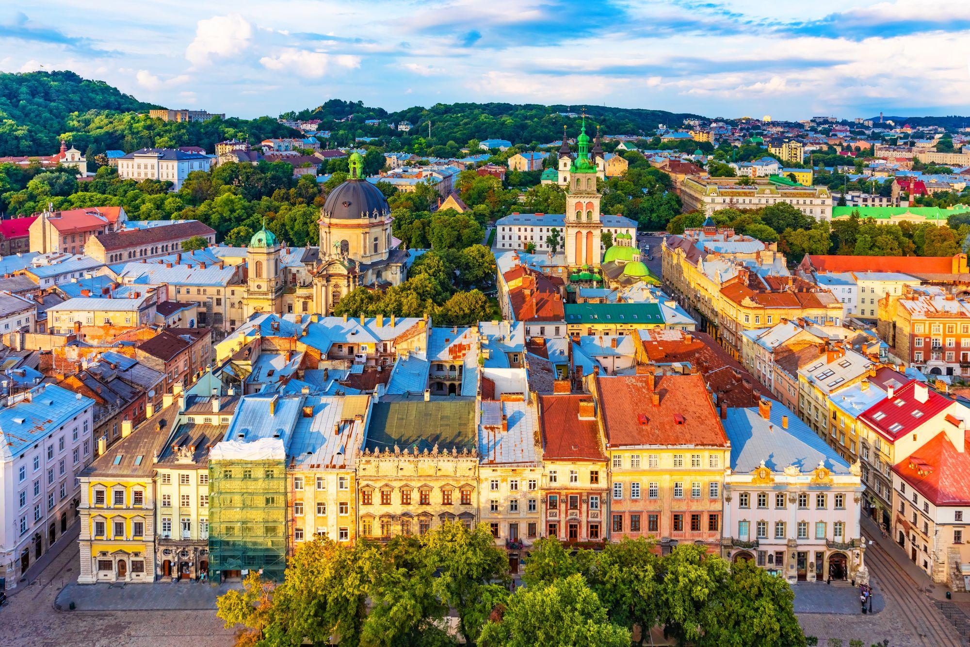 Wspaniałe wycieczki na Ukrainę